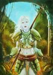 Bottleglass armor by Reneder