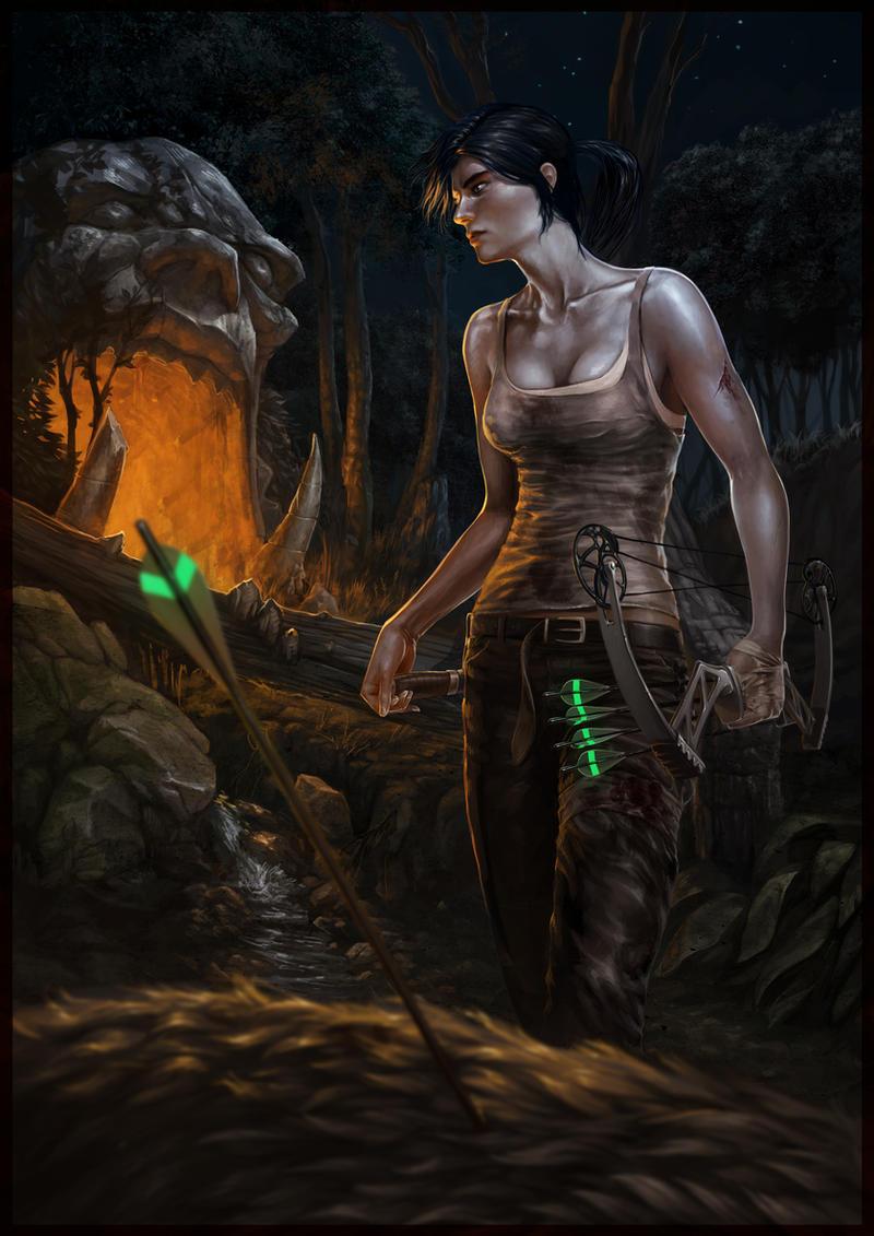 Tomb raider by Reneder