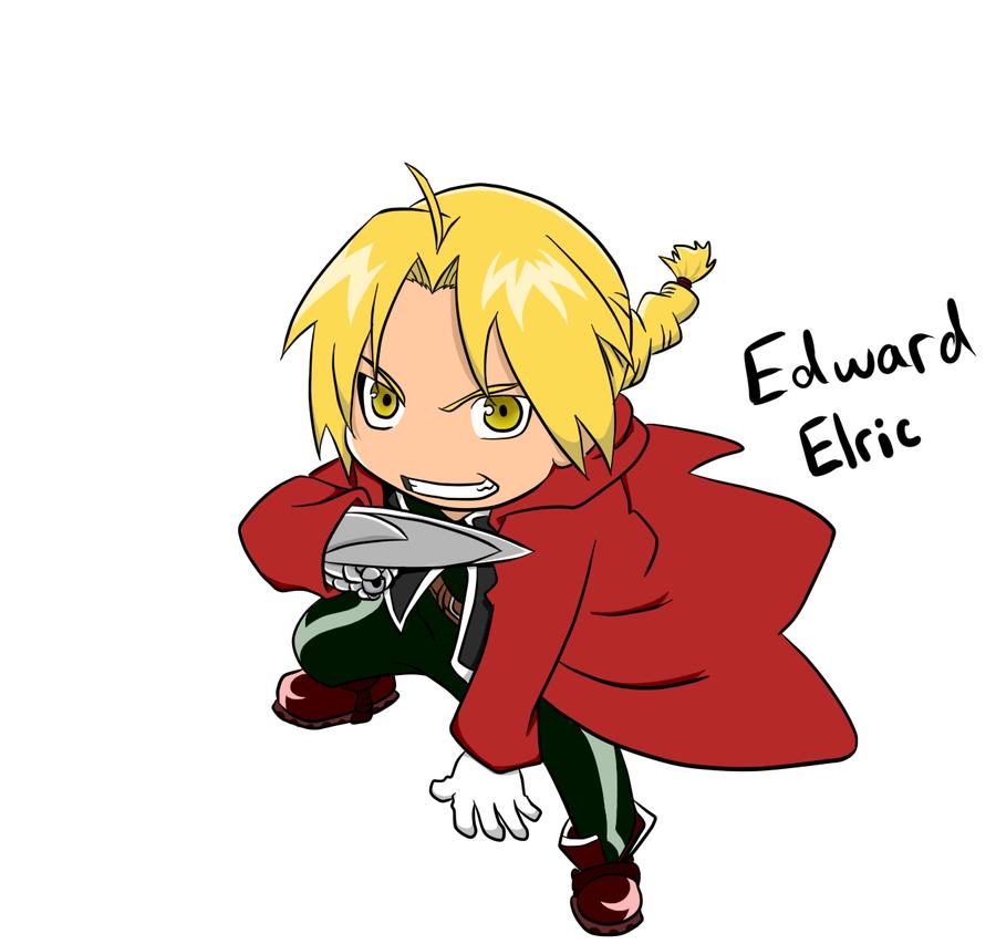 Edward Elric Chibi Redone