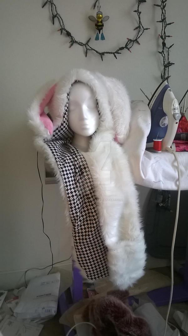 White Rabbit Hat by Ducktapedllamas