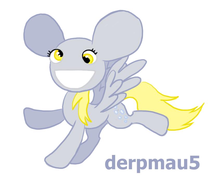 Derpmau5 by xXCystalTheWolfXx