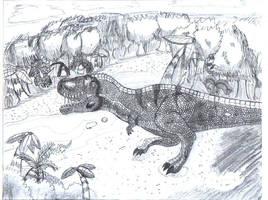 T Rex 3 by Blueflameskull489