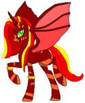 Kaoma the Alicorn (pixel)