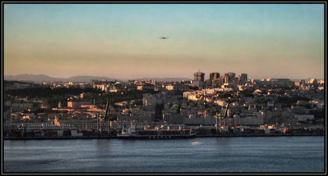 Capital City by Sunset