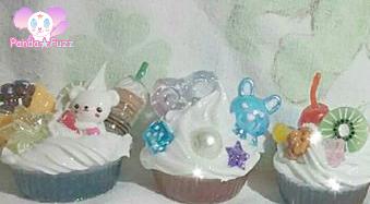 Kawaii Cupcake Ring Bases by ZinniaLunaJaganshi
