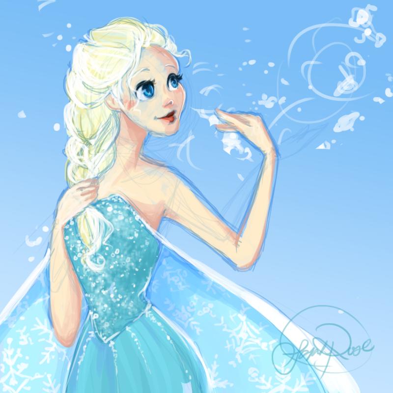 Download 55 Koleksi Gambar Frozen Lukisan Keren