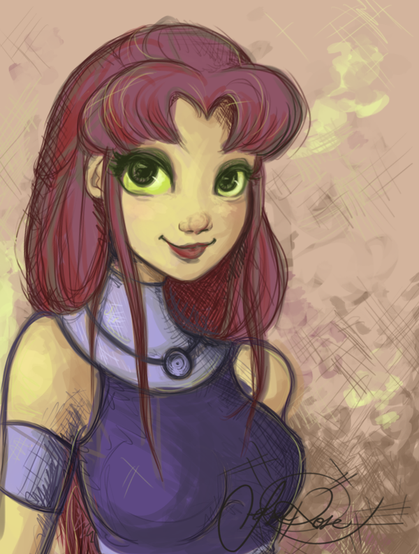 Starfire by Curly-Qs