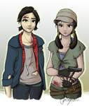 Tara and Rosita