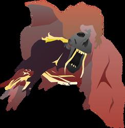 Blood-Starved Beast (Headshot 3) by Sir-Kuss