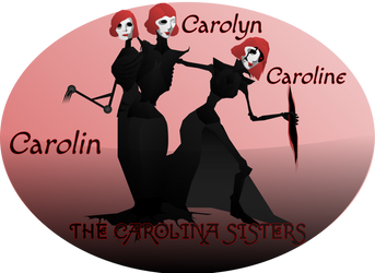 Carolina Sisters (DnD Antagonists) by Sir-Kuss
