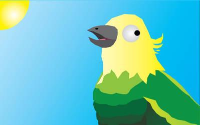 Bird (Adobe Illustrator) by Sir-Kuss