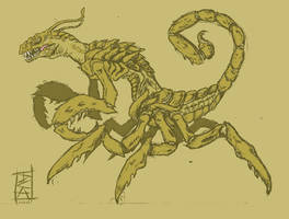 Dino-Bug-Scorpion? by Big-Rex