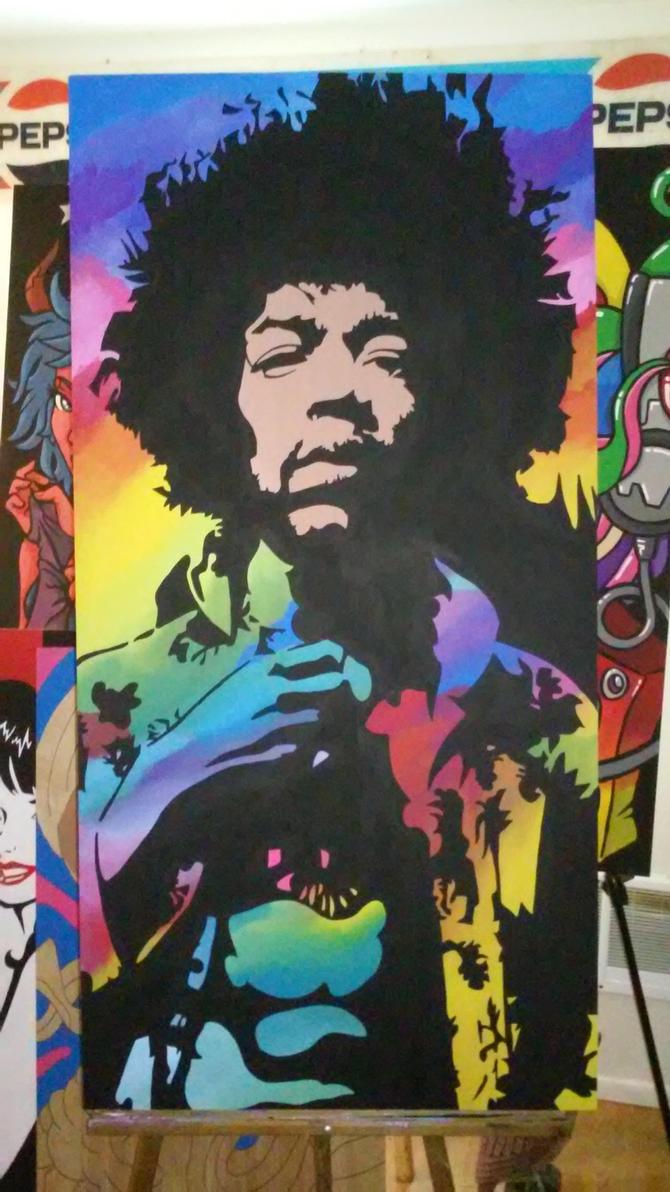 Jimi Hendrix by Big-Rex