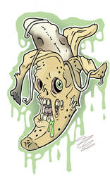 zombie banana by Big-Rex