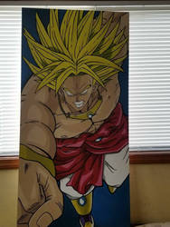 DBZ painting  by Big-Rex