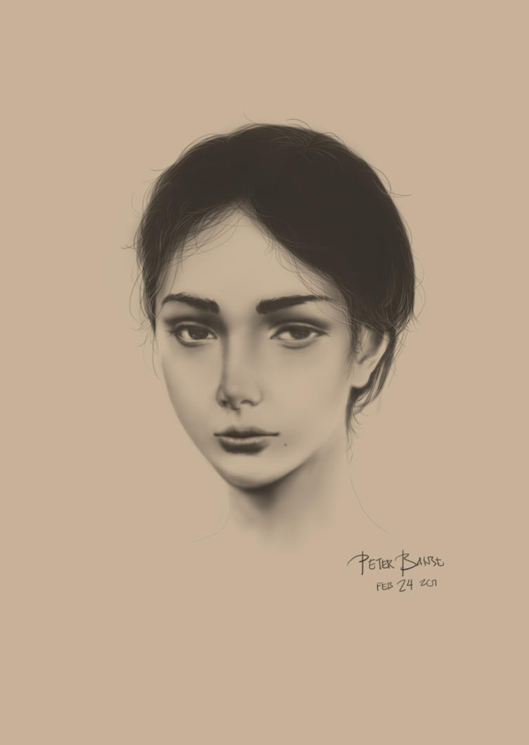 Portrait Study v005 by peterlaurence