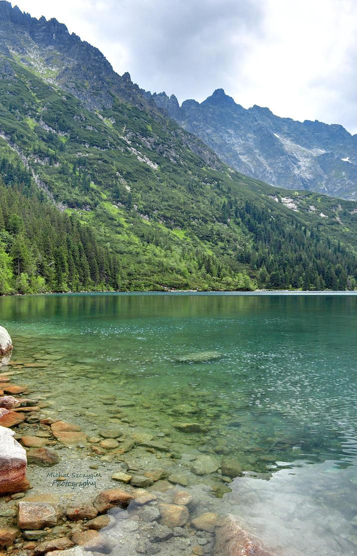 Green Water by klinone