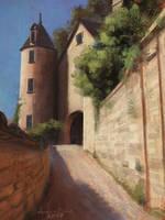 Castle study by arenirart
