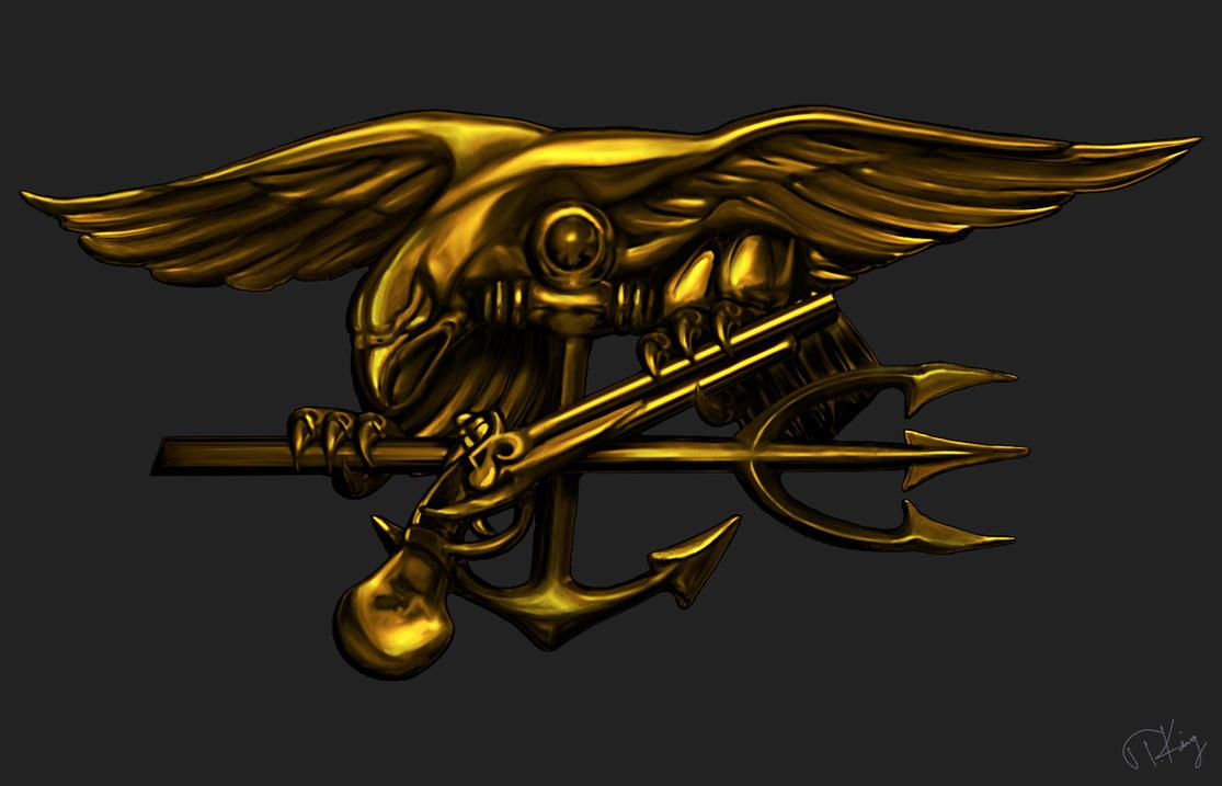 US Navy SEAL Trident by TKingArt on DeviantArt