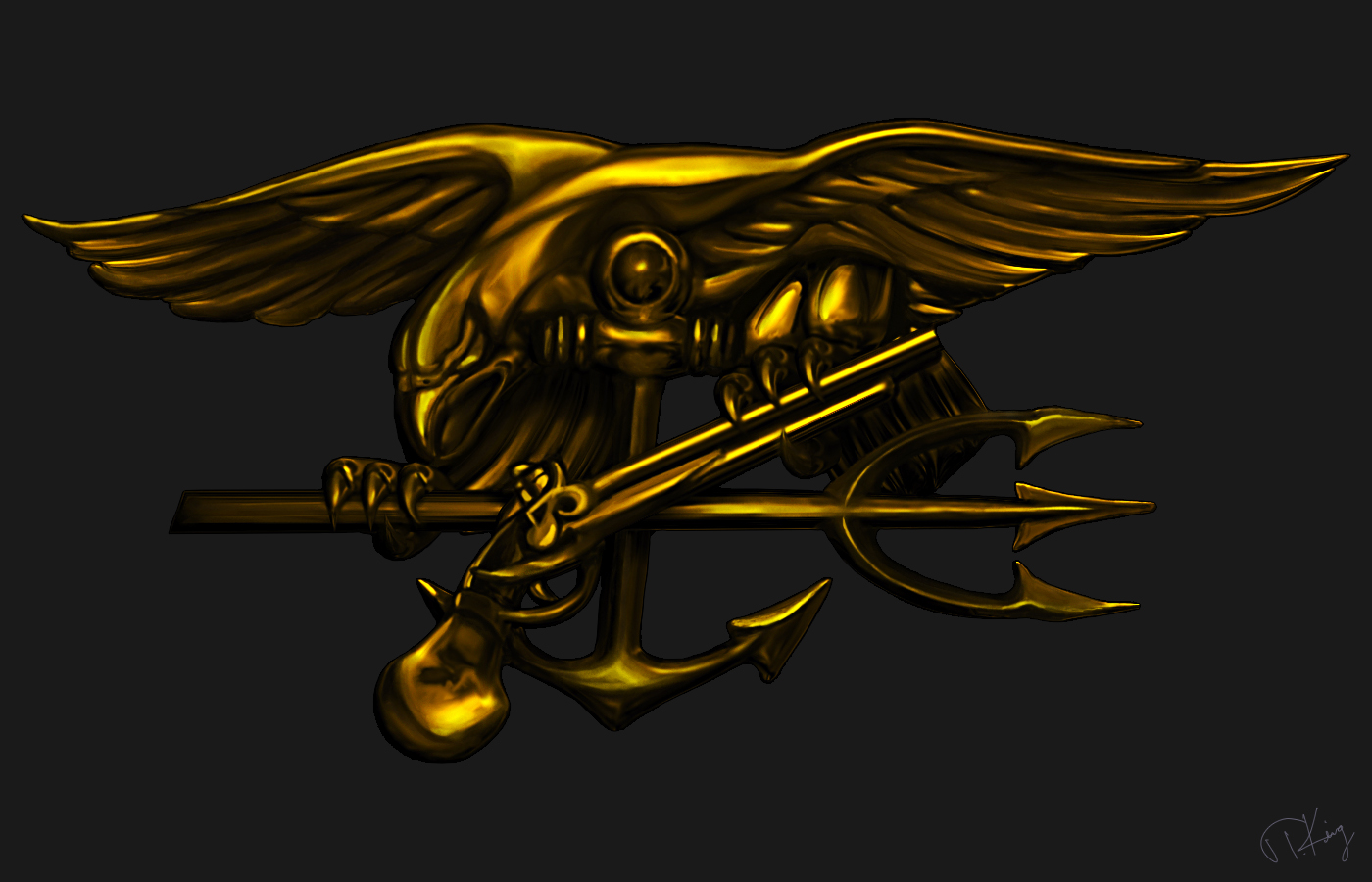 us navy seal trident by tkingart on deviantart