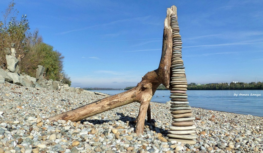 Fifty seven pieces stone skipping in Hungary by tom-tom1969