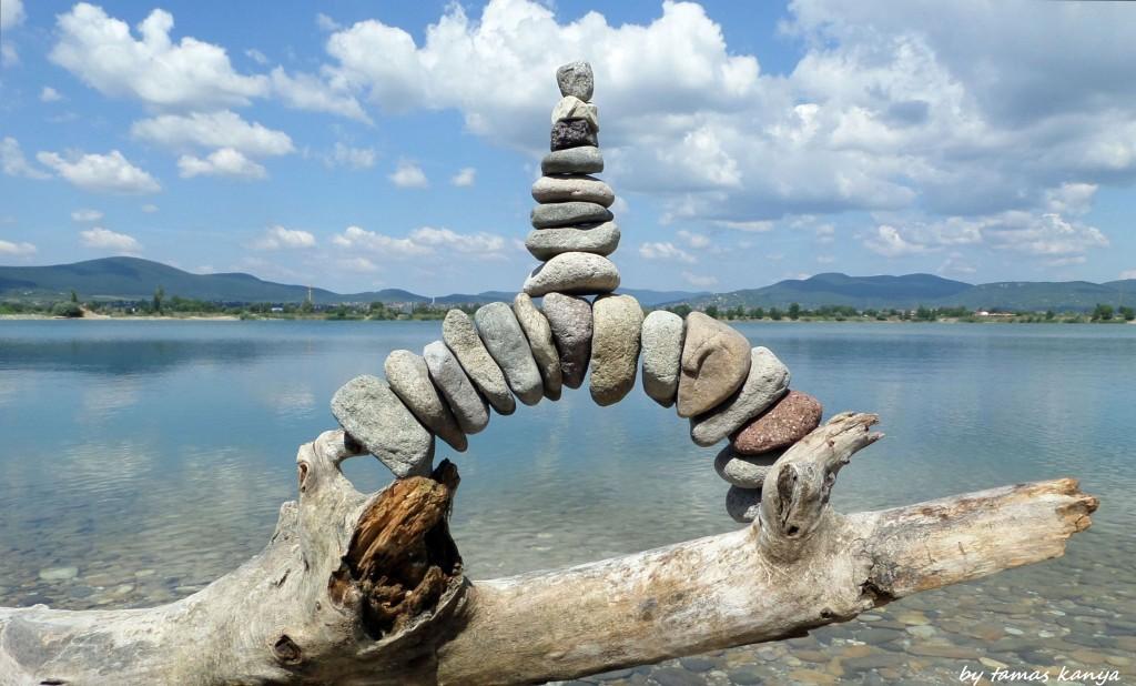 Stone balance in Hungary by tamas kanya by tom-tom1969