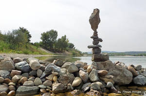 Stone balance art from Hungary by Tamas Kanya by tom-tom1969