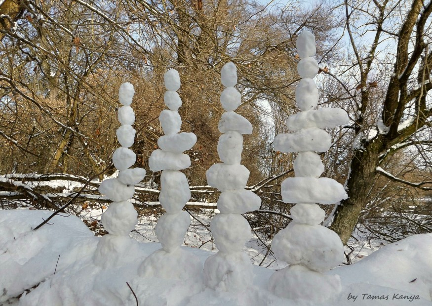 Land art-Snow art from Hungary by tamas kanya by tom-tom1969