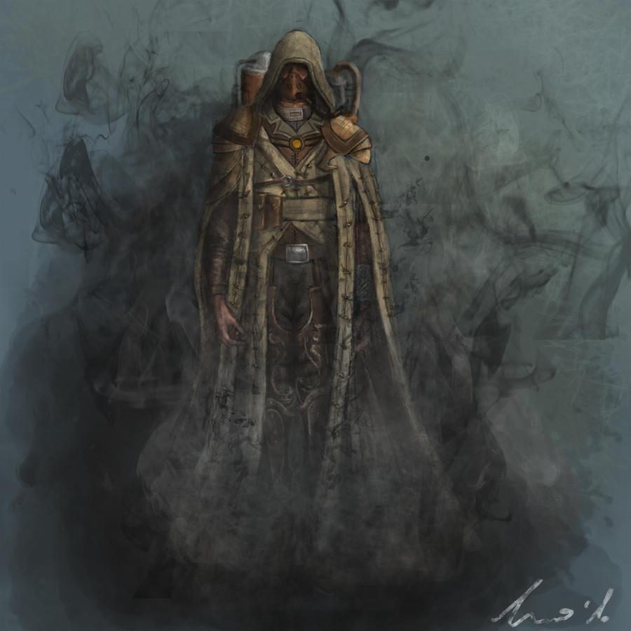 Spectre - cloak FX concept by ikkake