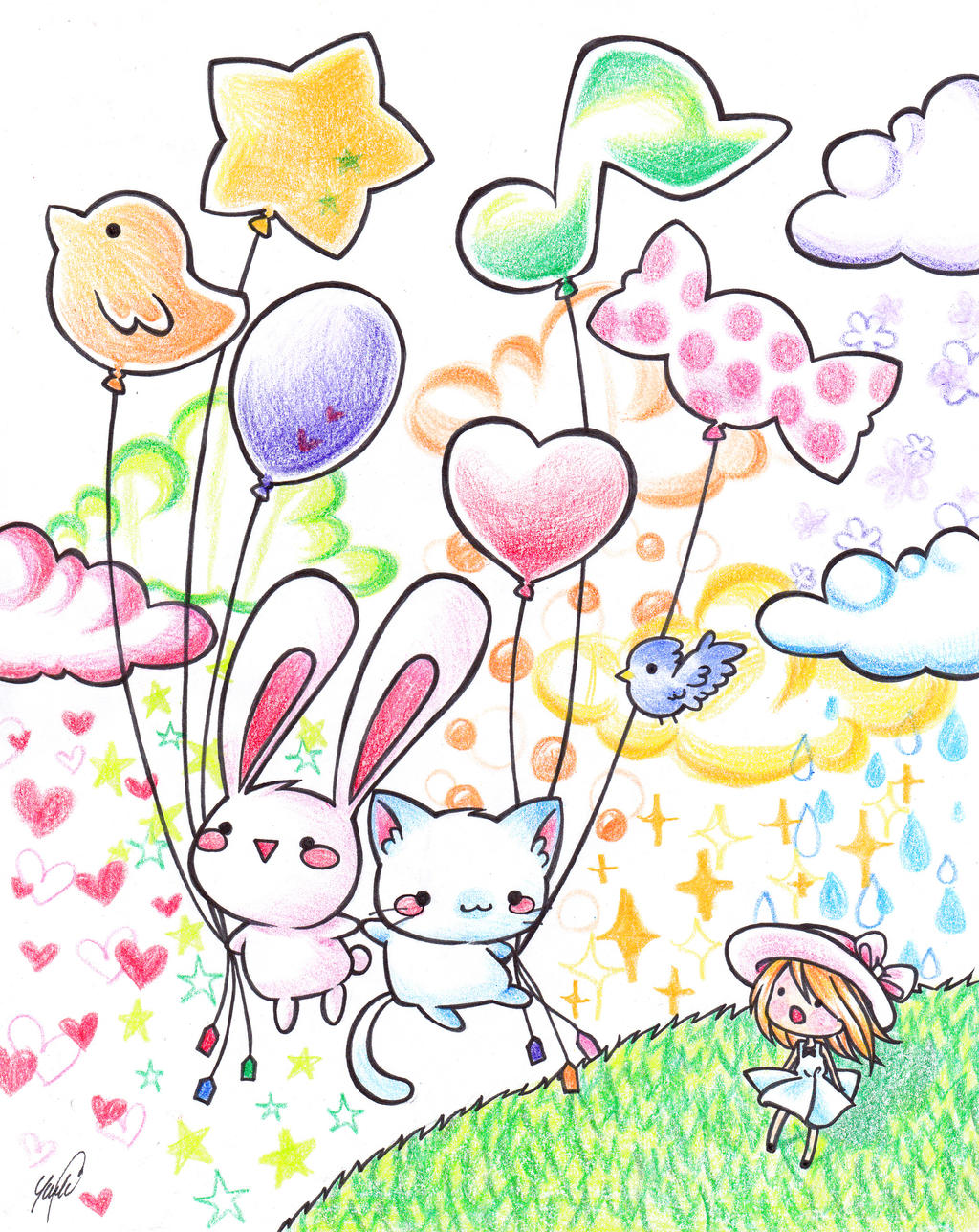 Balloon by Colorful--Melody