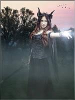 Morgan le Fay by Mocris