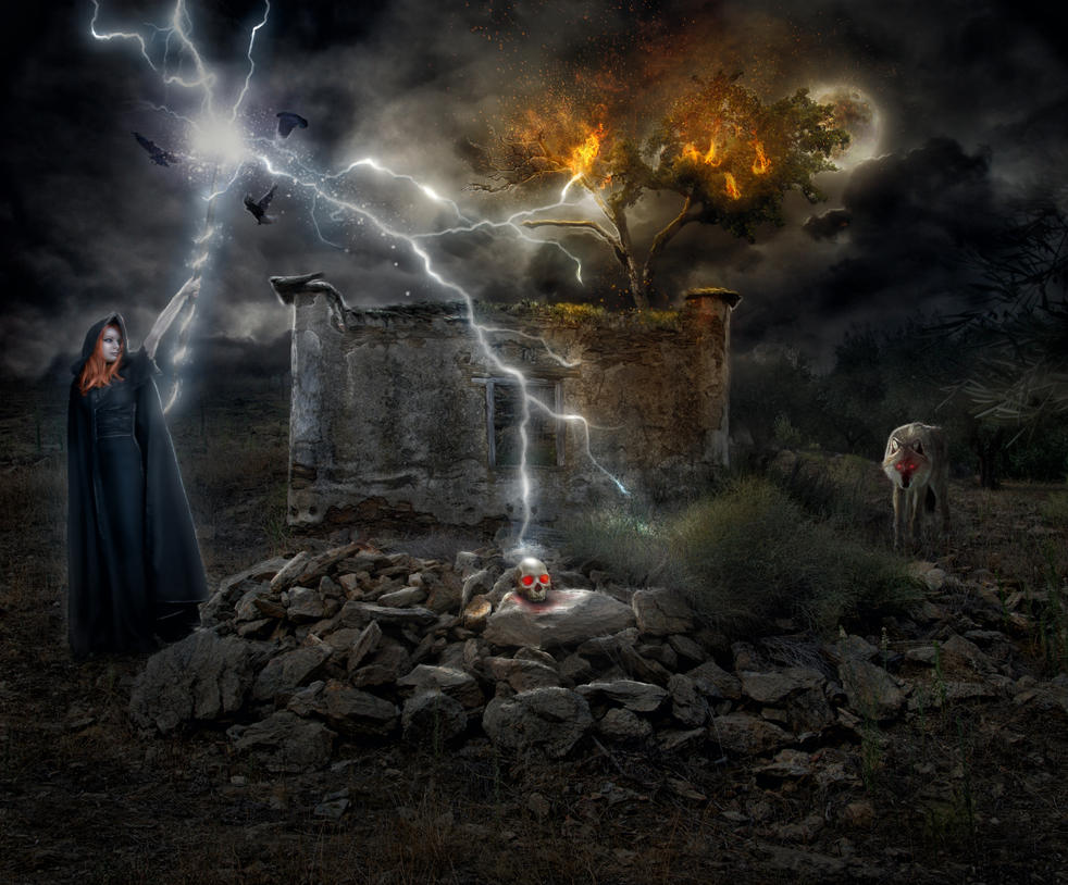 The Witch II by Mocris