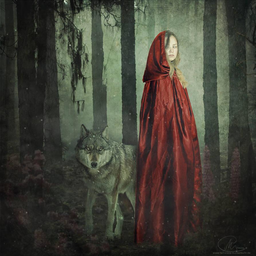 Rotkpche mit Wolf II 01