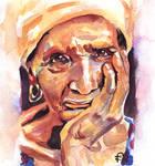 Old lady portrait
