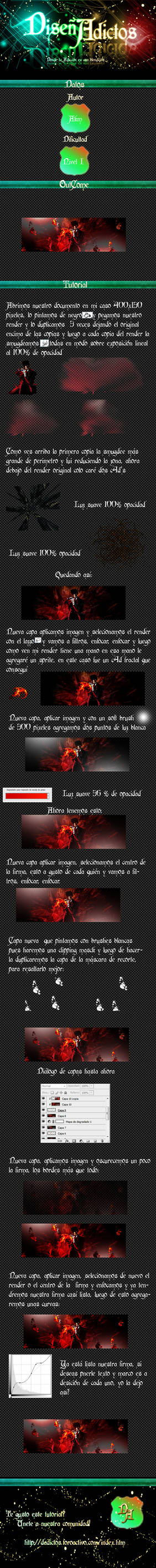 Tutorial Red Fire