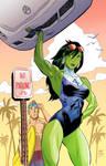 She Hulk colors