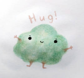 Cloud Hug by Furballx3