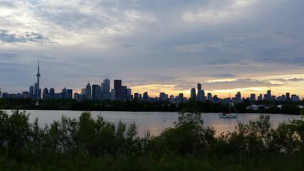 Toronto Skyline by stephtastic14