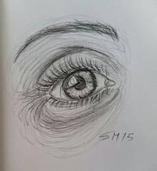 eye sketch by stephtastic14