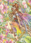 ACEO - Cherry Blossom Fairy