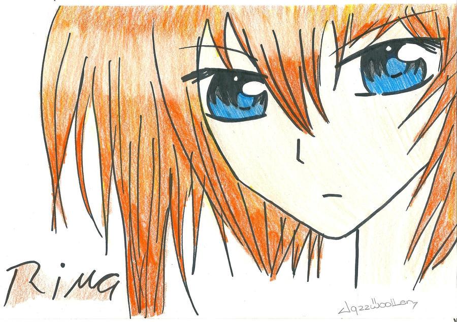 Rima Vampire Knight Drawing