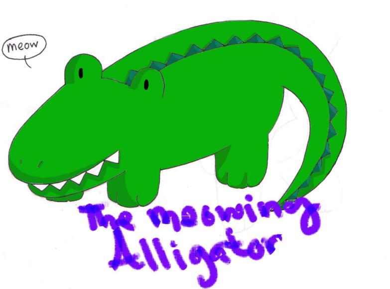 doll sketch alligator-updated by Butterfinger-Sharpie