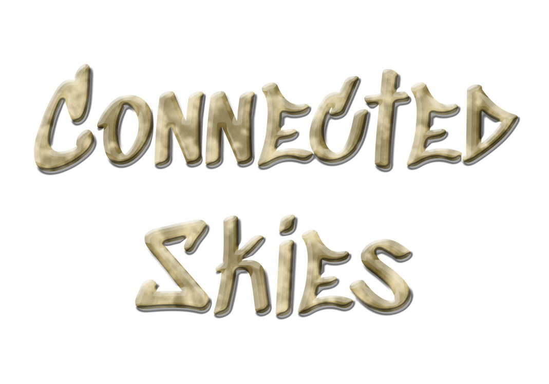 Connected Skies - Cover Text by Sodahkoki