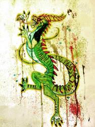 The Eastern Dragon by AchakWildSpirit