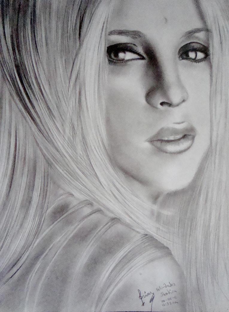 Shakira III by Brichel