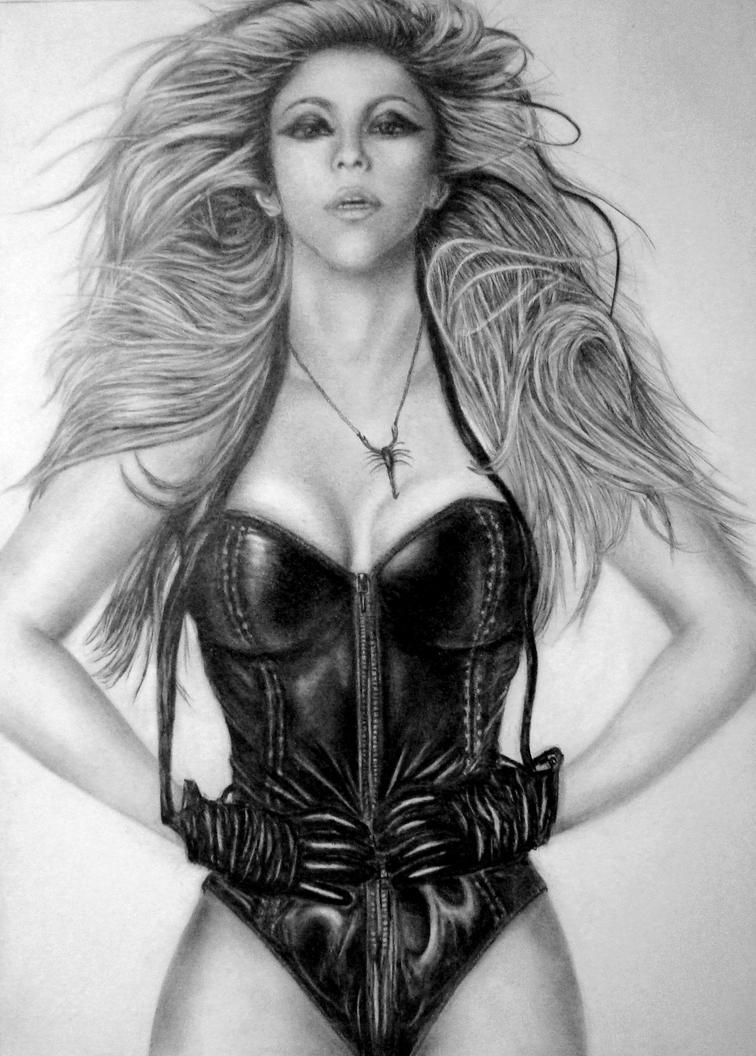 Shakira VII 2014 by Brichel
