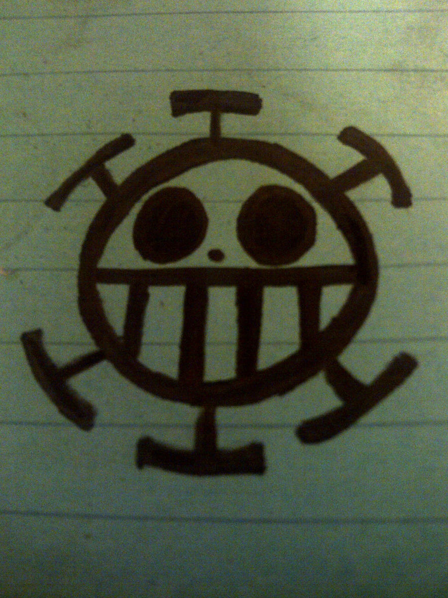 Trafalgar Law Jolly Roger-Pen by luffyisawesome on deviantART