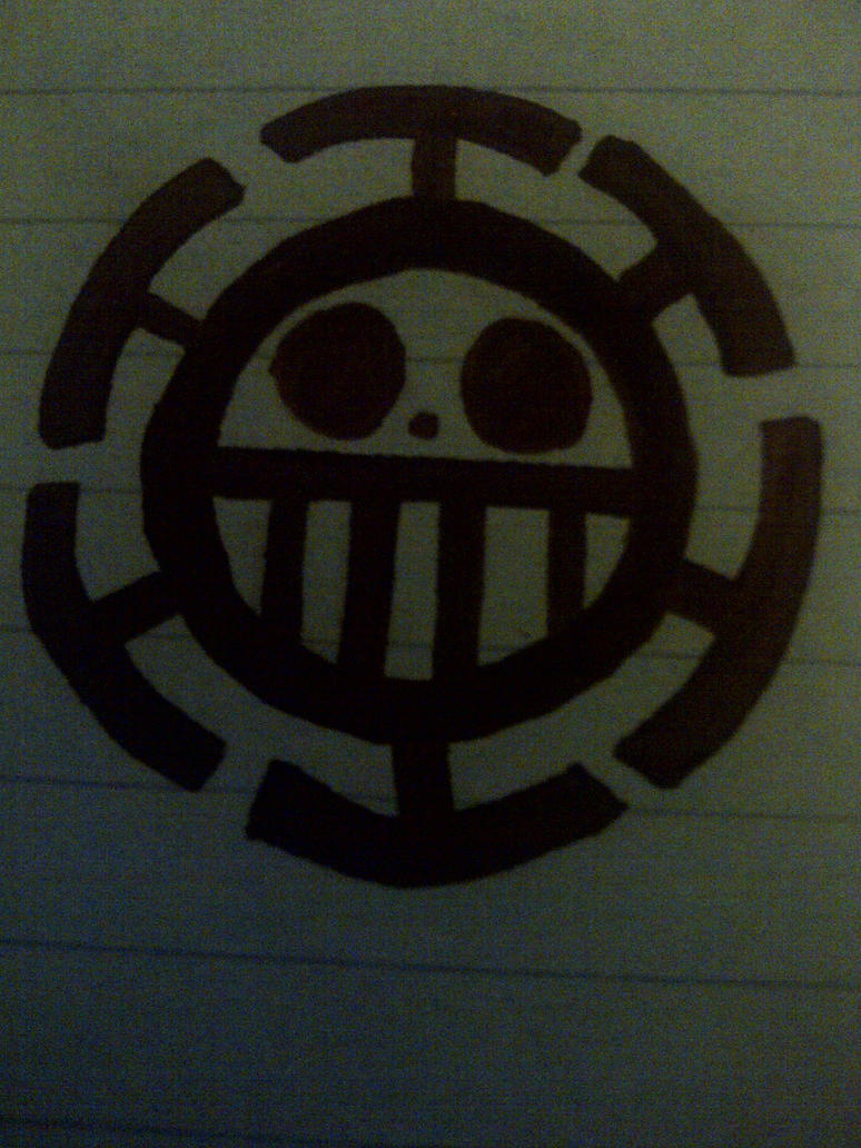 Trafalgar Law Jolly Roger-Pen 2nd Try by luffyisawesome on ...