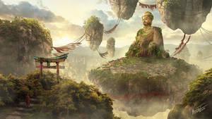 Sky Temple by hen-lee