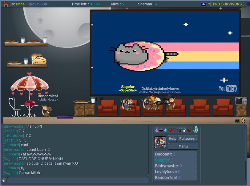 Pusheen Nyan Cat Nyan Cat Donut by Xsagefurx